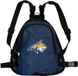 Montana State Bobcats Dog Cat Mini Backpack Harness w/ Leash