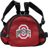 Ohio State Buckeyes Dog Cat Mini Backpack Harness w/ Leash