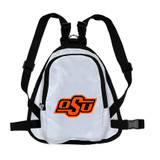 Oklahoma State Cowboys Dog Cat Mini Backpack Harness w/ Leash
