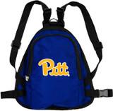 Pitt Panthers Dog Cat Mini Backpack Harness w/ Leash