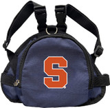 Syracuse Orange Dog Cat Mini Backpack Harness w/ Leash