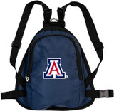 Arizona Wildcats Dog Cat Mini Backpack Harness w/ Leash
