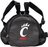 Cincinnati Bearcats Dog Cat Mini Backpack Harness w/ Leash