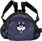 UCONN Huskies Dog Cat Mini Backpack Harness w/ Leash