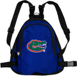 Florida Gators Dog Cat Mini Backpack Harness w/ Leash