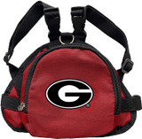 Georgia Bulldogs Dog Cat Mini Backpack Harness w/ Leash