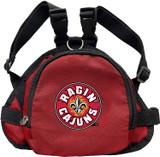Louisiana Lafayette Ragin' Cajuns Dog Cat Mini Backpack Harness w/ Leash