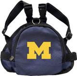 Michigan Wolverines Dog Cat Mini Backpack Harness w/ Leash