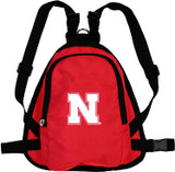 Nebraska Huskers Dog Cat Mini Backpack Harness w/ Leash