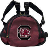 South Carolina Gamecocks Dog Cat Mini Backpack Harness w/ Leash