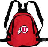 Utah Utes Dog Cat Mini Backpack Harness w/ Leash