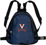 Virginia Cavaliers Dog Cat Mini Backpack Harness w/ Leash