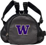 Washington Huskies Dog Cat Mini Backpack Harness w/ Leash