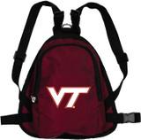 Virginia Tech Hokies Dog Cat Mini Backpack Harness w/ Leash