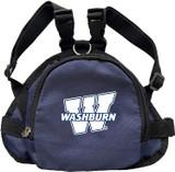Washburn Ichabods Dog Cat Mini Backpack Harness w/ Leash