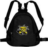 Wichita State Shockers Dog Cat Mini Backpack Harness w/ Leash