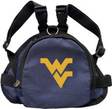 West Virginia Mountaineers Dog Cat Mini Backpack Harness w/ Leash