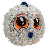 PetLove Fuzzy Fish Ball Dog Toy Premium Soft Plush w/ Squeaker