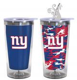 New York Giants Color Change Travel Tumbler