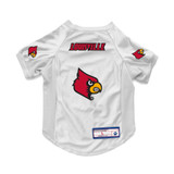 Louisville Cardinals Dog Cat Deluxe Stretch Jersey