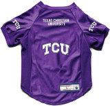 TCU Horned Frogs Dog Deluxe Stretch Jersey Big Dog Size