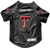 Texas Tech Red Raiders Dog Deluxe Stretch Jersey Big Dog Size