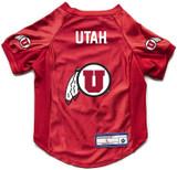 Utah Utes Dog Deluxe Stretch Jersey Big Dog Size