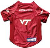 Virginia Tech Hokies Dog Deluxe Stretch Jersey Big Dog Size