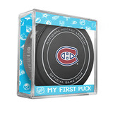 Montreal Canadiens My First Official Puck In Case Baby Boy Blue
