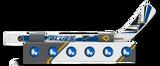 St. Louis Blues Knee Hockey Rapid Fire Set Mini Stick Foam Balls
