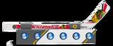Chicago Blackhawks Knee Hockey Rapid Fire Set Mini Stick Foam Balls