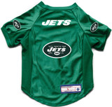 New York Jets Dog Cat Deluxe Stretch Jersey