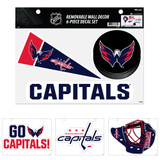 Washington Capitals Removable Wall Decor 6pc Set Premium Decals