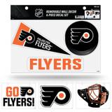 Philadelphia Flyers Removable Wall Decor 6pc Set Premium Decals