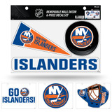 New York Islanders Removable Wall Decor 6pc Set Premium Decals