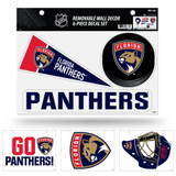 Florida Panthers Removable Wall Decor 6pc Set Premium Decals