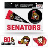Ottawa Senators Removable Wall Decor 6pc Set Premium Decals
