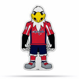 Washington Capitals Mascot Pennant Fanion Premium Shape Cut Slapshot