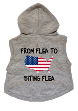 USA Dog Cat Hoodie From Flea To Biting Flea Premium Sweatshirt