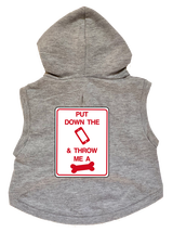 Put Down Phone Throw Me Bone Dog Hoodie Premium Sweatshirt