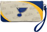 St. Louis Blues Curve Zip Organizer Wallet Wristlet