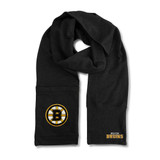 Boston Bruins Jimmy Bean Scarf 4 In 1 Handwarmer Beanie Pocket Unisex