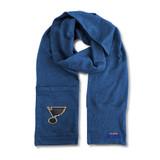 St. Louis Blues Jimmy Bean Scarf 4 In 1 Handwarmer Beanie Pocket Unisex