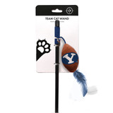 BYU Cougars Cat Football Toy Wand Interactive Teaser