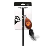 Clemson Tigers Cat Football Toy Wand Interactive Teaser