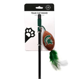 Michigan State Spartans Cat Football Toy Wand Interactive Teaser