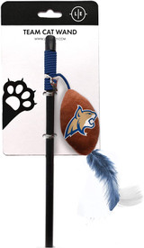 Montana State Bobcats Cat Football Toy Wand Interactive Teaser