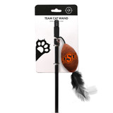 Oklahoma State Cowboys Cat Football Toy Wand Interactive Teaser