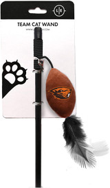 Oregon State Beavers Cat Football Toy Wand Interactive Teaser