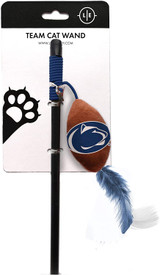 Penn State Nittany Lions Cat Football Toy Wand Interactive Teaser